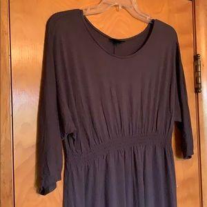 Mossimo: charcoal grey T-shirt dress